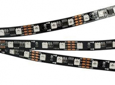 SPI-5000-5060-60 12V CX3 RGB-AUTO (BLACK 10MM, 13.2W, IP20) 60 LED